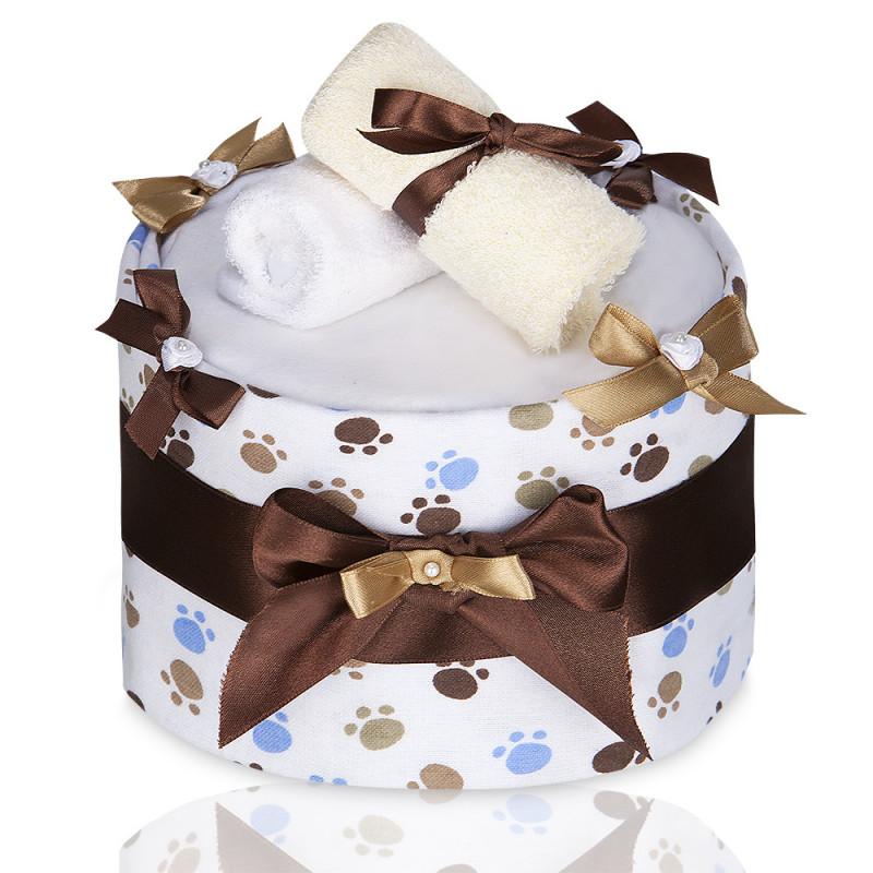 Plenkový dort ECO - LUX, large white paws / velké bílé tlapky