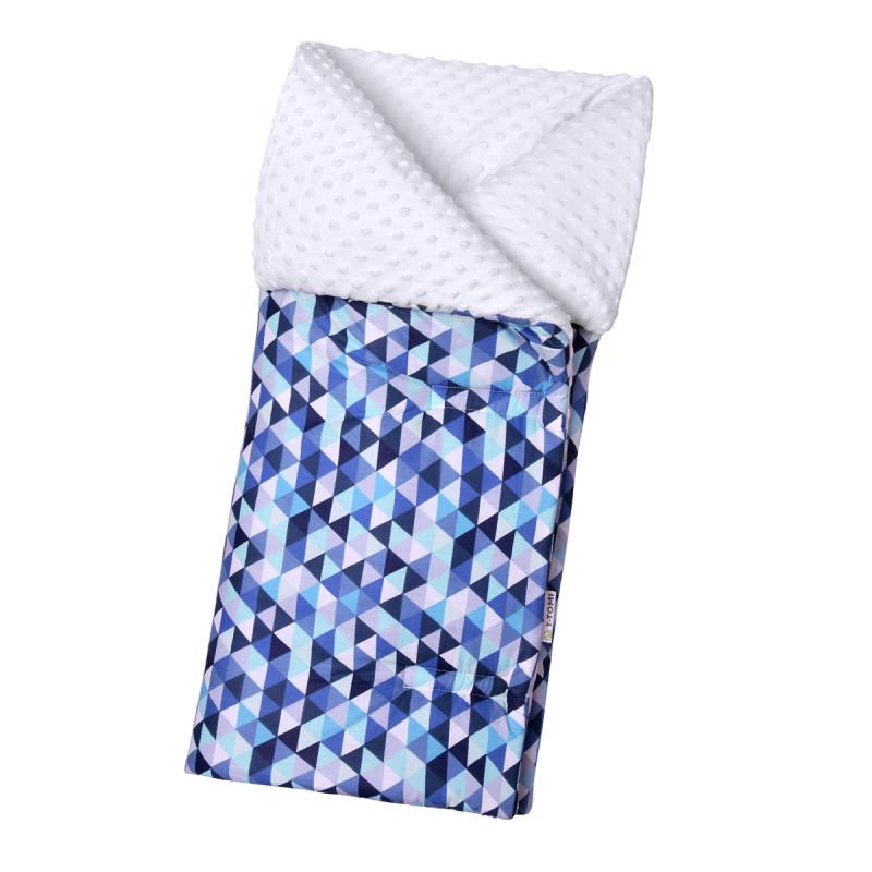 Dětský fusak, blue triangles