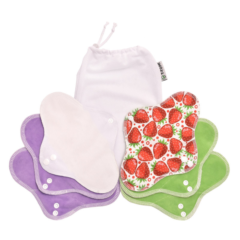 Sada DAY, strawberries + prací sáček