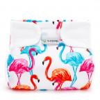 Ortopedické abdukční kalhotky - suchý zip, flamingo (5-9kg)