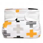 Ortopedické abdukční kalhotky - suchý zip, crosses (5-9kg)