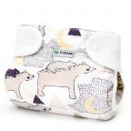 Ortopedické abdukční kalhotky - patentky, bears (5-9kg)