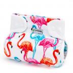 Ortopedické abdukční kalhotky - patentky, flamingo (3-6kg)