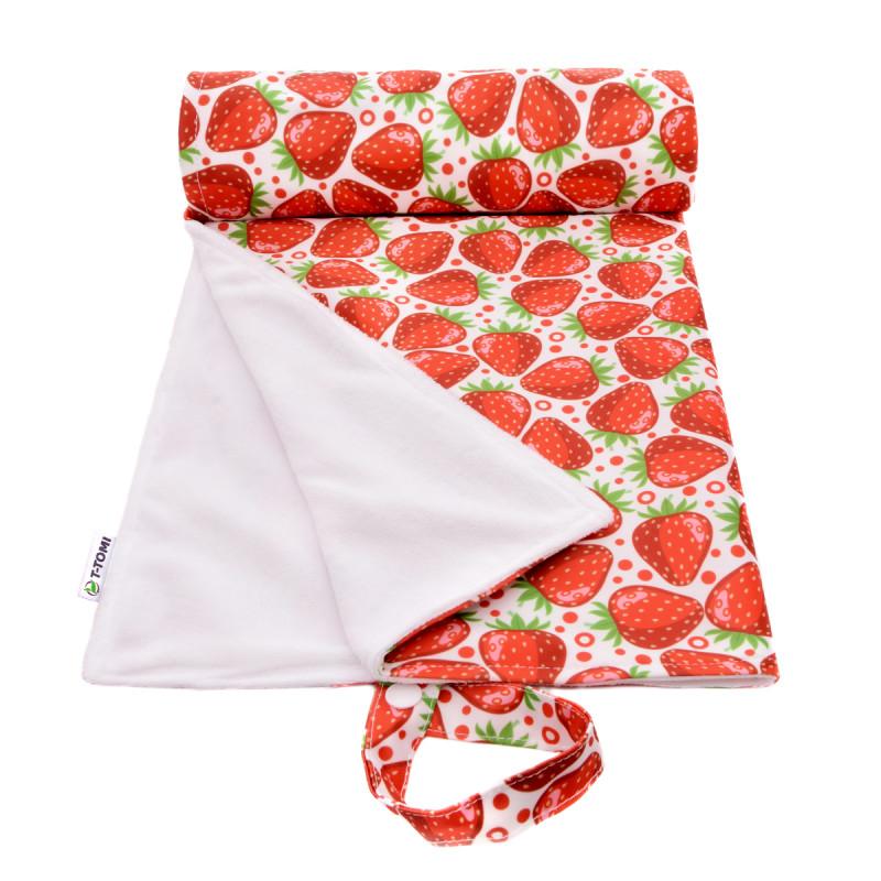 Přebalovací podložka, strawberries