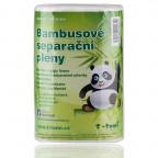 Bambusové separační pleny
