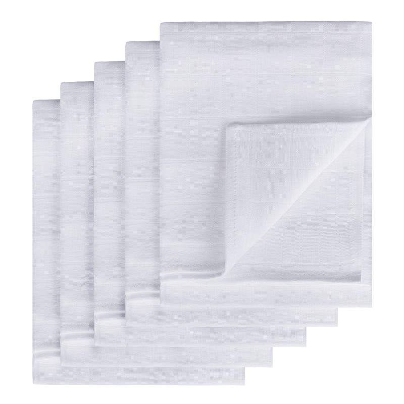 TETRA pleny HIGH QUALITY, bílá, 70x70, 5ks