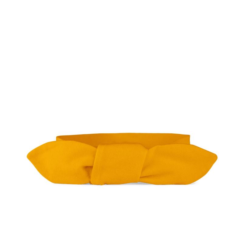 Zavazovací čelenka - dětská, mustard