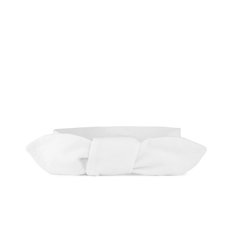 Zavazovací čelenka - dětská, white