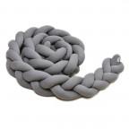 Pletený mantinel 360 cm, anthracite