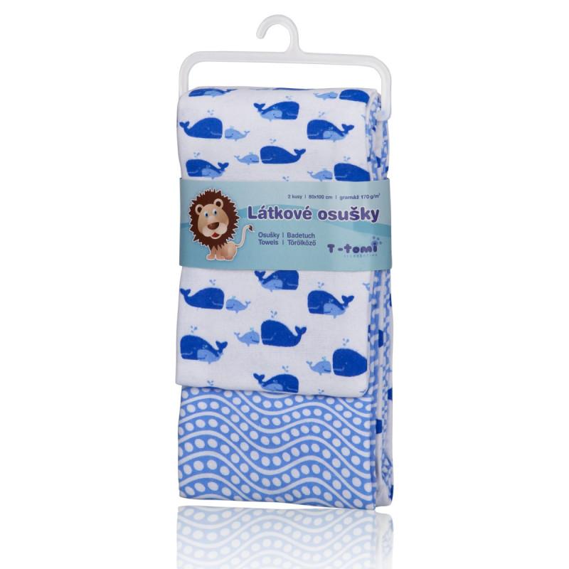 Látkové osušky, blue ocean / modrý oceán