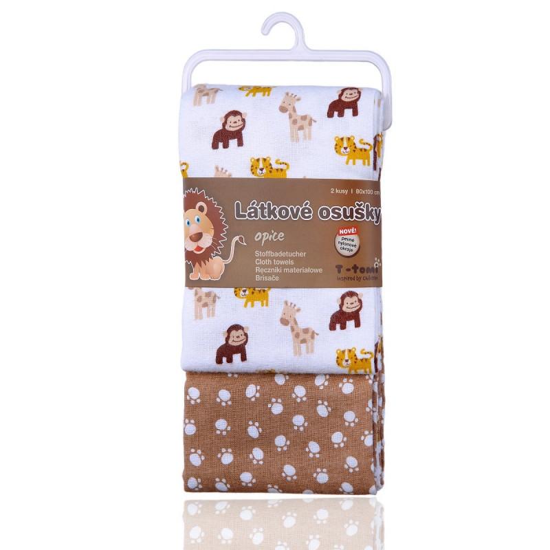 Látkové osušky, monkey / opice