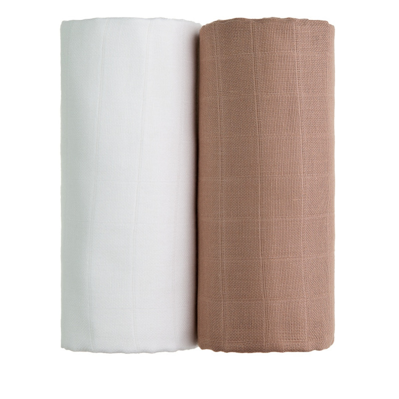 TETRA osušky EXCLUSIVE COLLECTION, white + beige / bílá + béžová