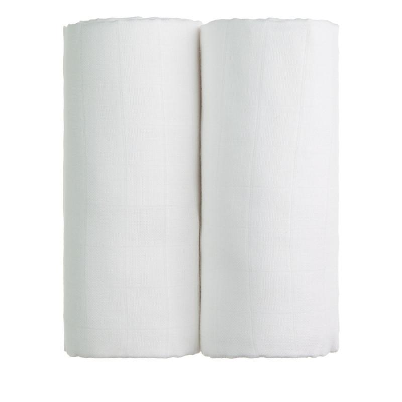 TETRA osušky EXCLUSIVE COLLECTION, 2x white / 2x bílá