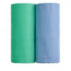 TETRA osušky EXCLUSIVE COLLECTION, blue + green / modrá + zelená